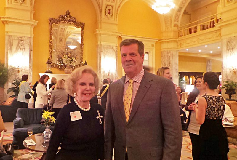 Honorary Chairwoman Jane Dudley and Nashville Mayor Carl Dean.
