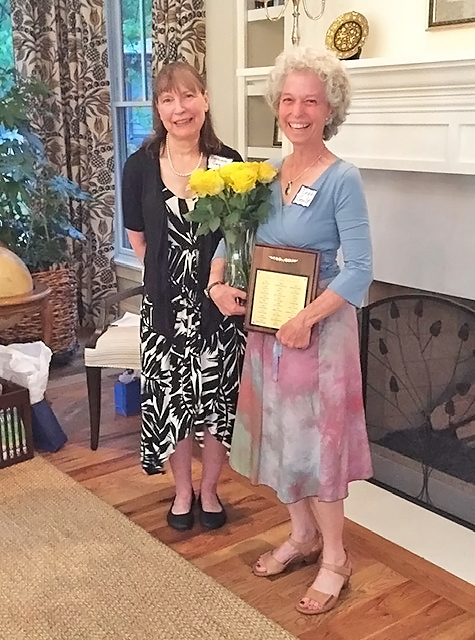 Debby Gould - 2019 Award Recipient