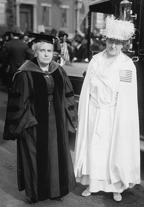 Carrie Chapman Catt and Anna Howard Shaw (1917)