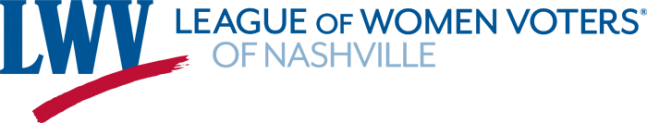 League of Women Voters Nashville Chapter Logo
